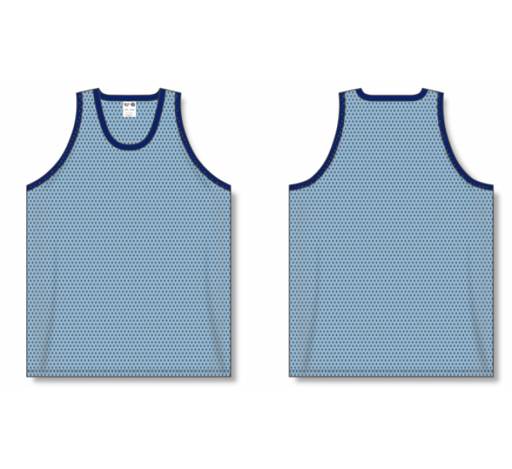 Polymesh TradItional Cut Basketball Jerseys - Powder