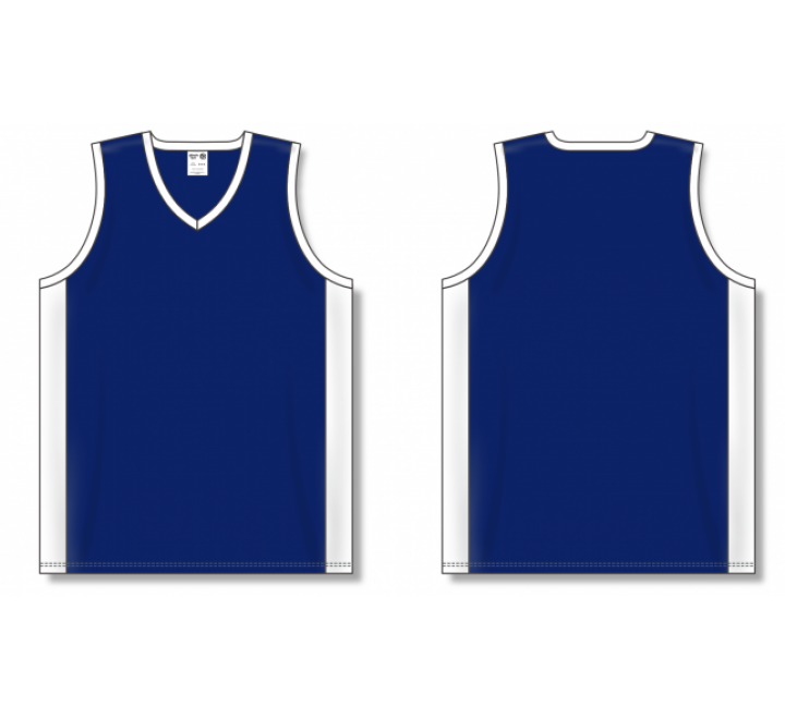 Dry-Flex Pro Cut with Inserts Basketball Jerseys - Navy