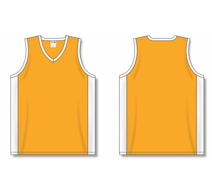 Dry-Flex Pro Cut with Inserts Basketball Jerseys - Gold