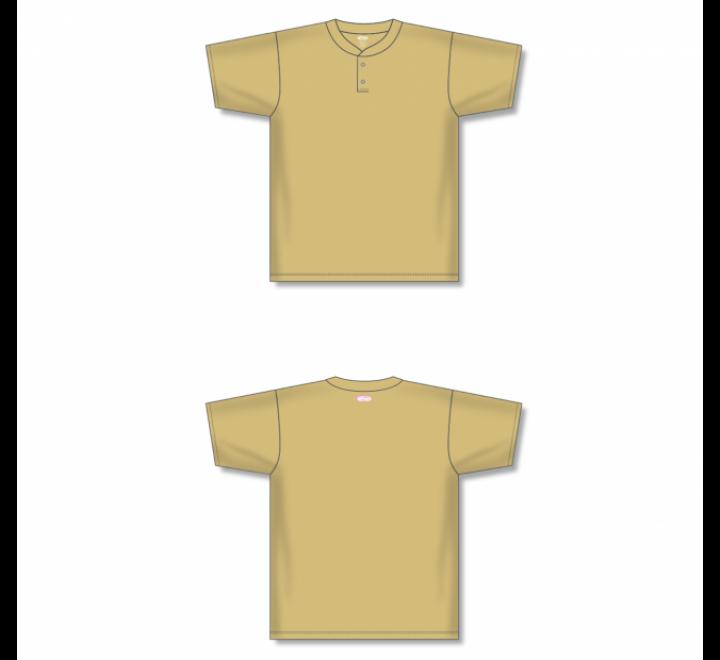 Two-Button Baseball Jersey - Vegas