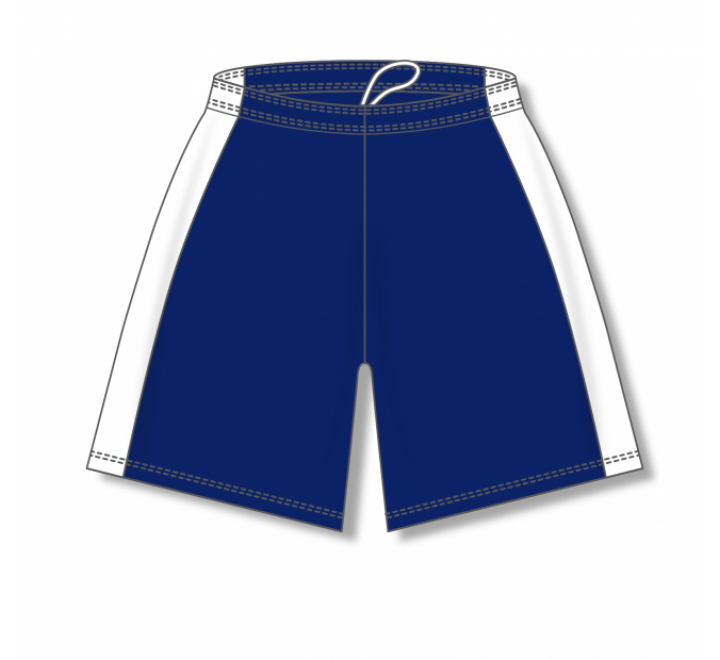 Dry-Flex with Side Inserts Basketball Shorts - Navy