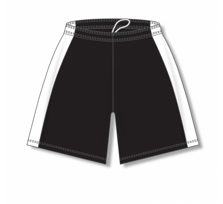 Dry-Flex with Side Inserts Basketball Shorts - Black