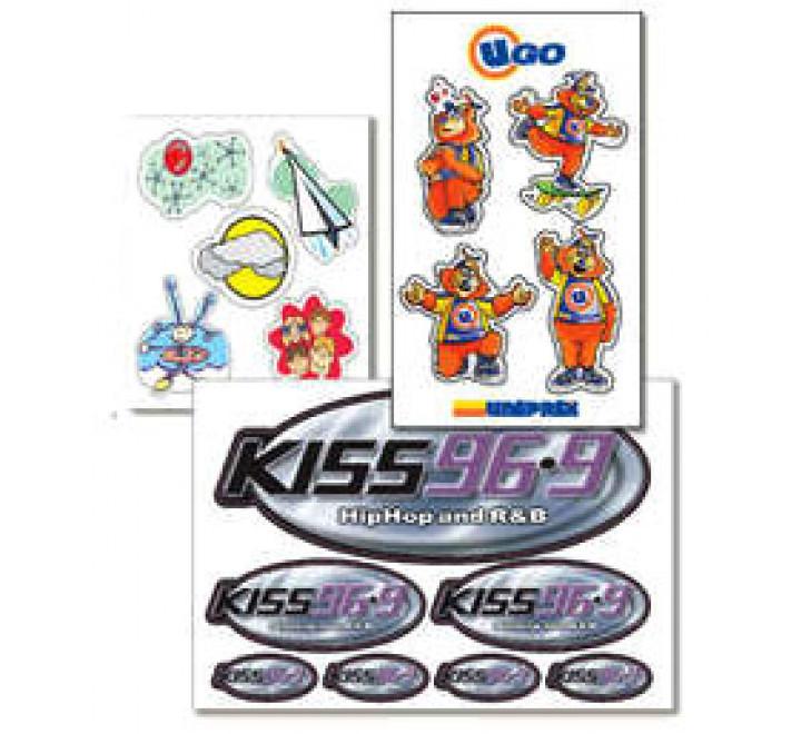 Custom Stickers- Sheets