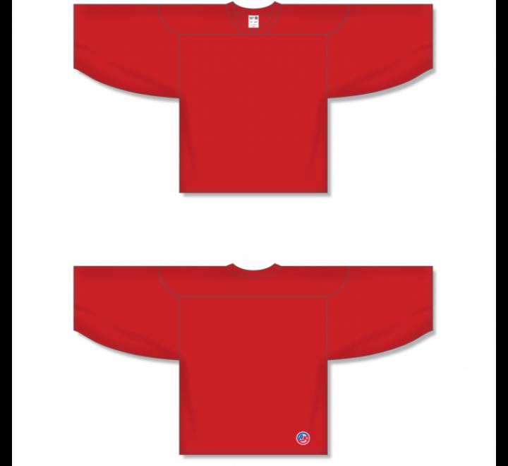 Practice Series Hockey Jerseys - Red