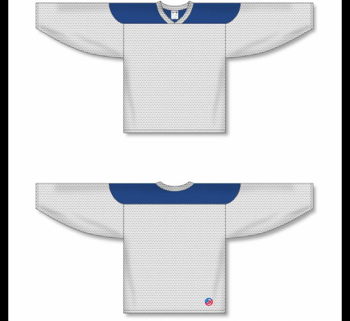 League Series Hockey Jerseys - White/Royal
