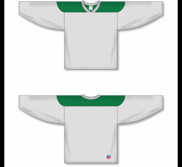League Series Hockey Jerseys - White/Kelly