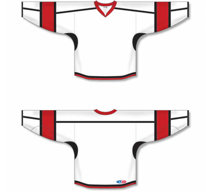 Select Series Hockey Jerseys - White/Red