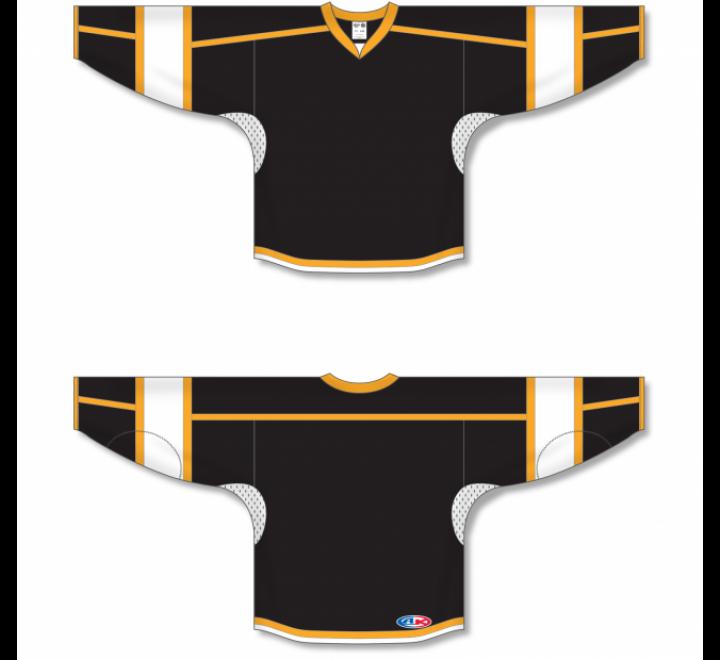 Select Series Hockey Jerseys - Black/Gold