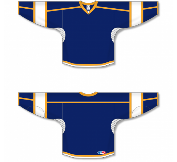Select Series Hockey Jerseys - Navy/Gold