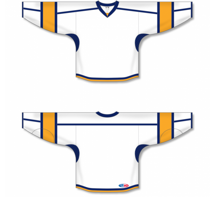Select Series Hockey Jerseys - White/Gold