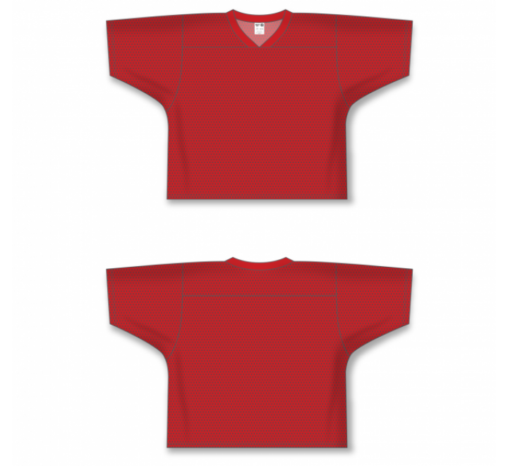 Field Lacrosse Jerseys - Red