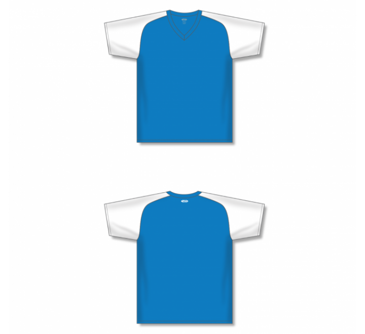 Custom Screen printed Soccer Jersey - Pro Blue