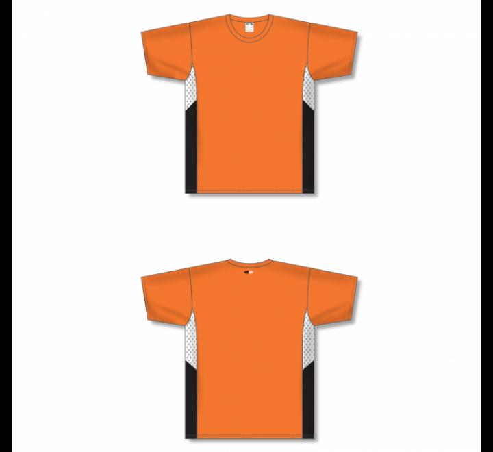 Custom Screen printed Soccer Jersey - Orange