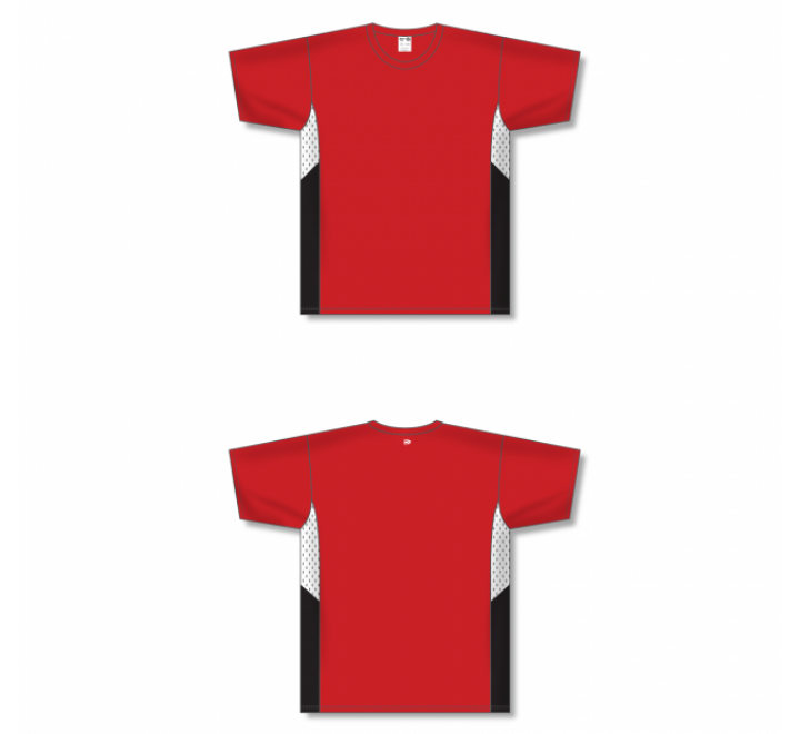 Custom Screen printed Soccer Jersey - Red