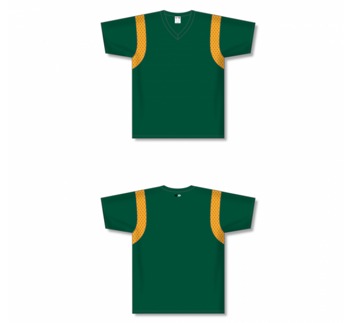Custom Screen printed Soccer Jersey - Dark Green