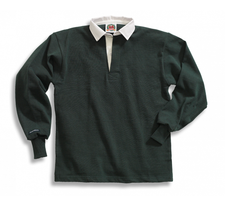 Solid Cotton Rugby Shirts