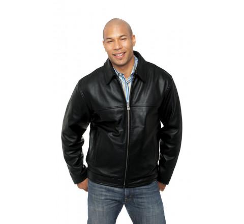 Heathrow Mens Leather Jacket