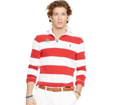 4in Stripe Classic Cotton Rugby Shirts
