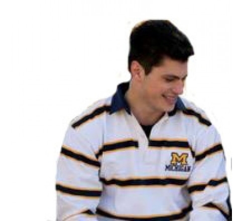 Cotton Niagara Stripe Rugby Shirts