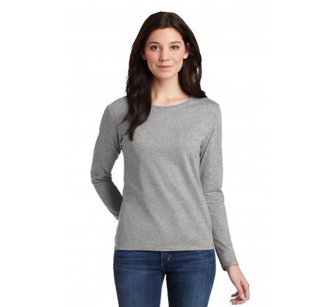 Gildan Heavy Cotton Semi-Fitted Ladies L/S T-Shirt