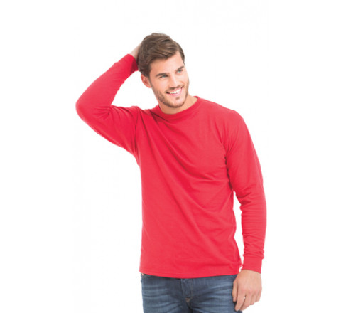 Long Sleeve Mockneck, Interlock