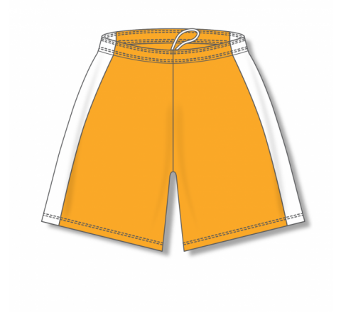 Dry-Flex with Side Inserts Basketball Shorts - Gold