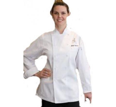 St Tropez Women's Chef Coat