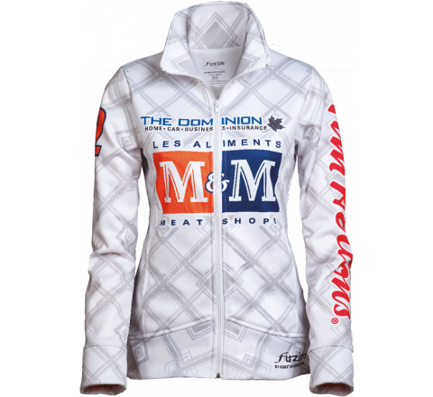 Promotional Sublimated Ladies Curling Jacket - HARLOW