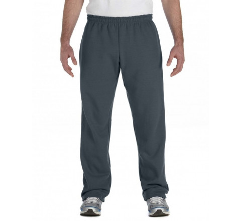 Gildan No Pocket Heavy Blend Open Bottom Sweatpants