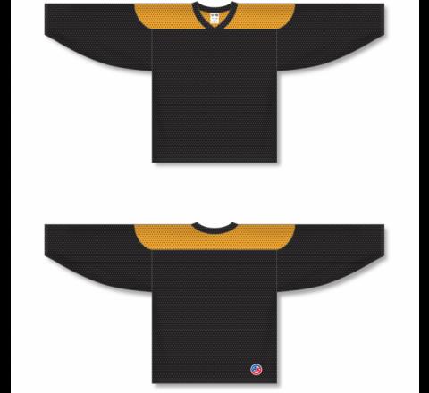 League Series Hockey Jerseys - Black/Gold