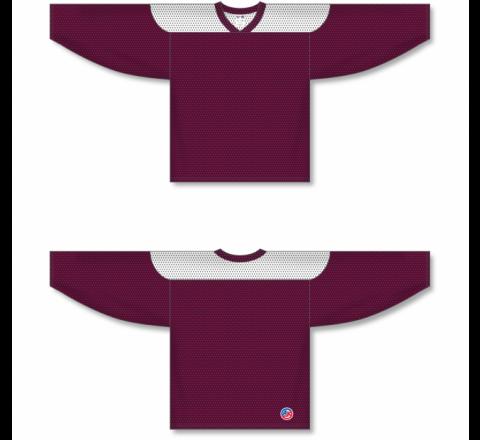 League Series Hockey Jerseys - Maroon