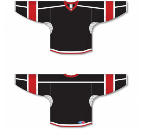 Select Series Hockey Jerseys - Black/Red