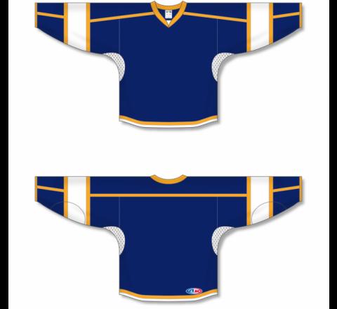 Select Series Hockey Jerseys - Navy/Gold