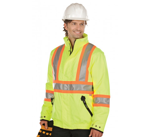 Jacket - Men's High Visibility Insulated Bomber Jacket