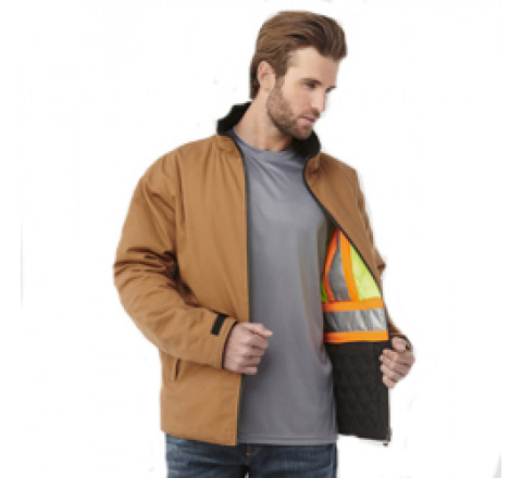 Jacket - Zircon Men's Hi Vis Reversible Jacket