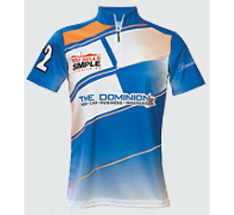 Promotional Sublimated Mens Curling Shirts - PEEL