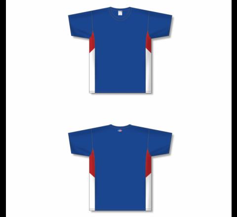 Custom Screen printed Soccer Jersey - Royal