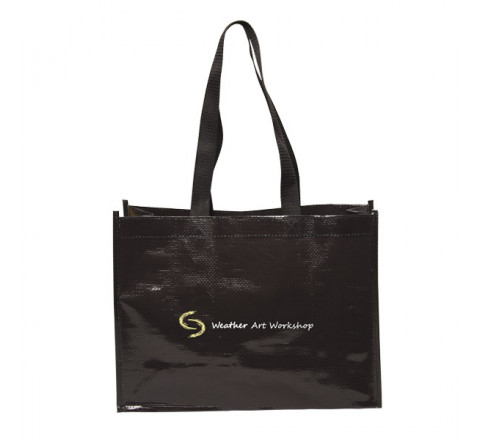 5th Ave Laminated Non-Woven Tote Bag