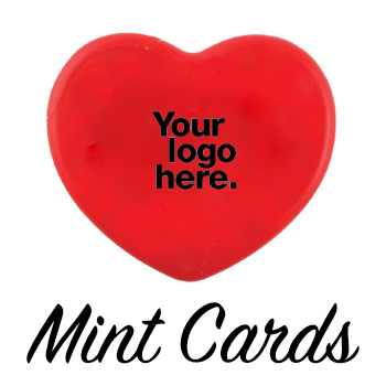 Valentines Day Mint Cards